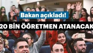 Milli Eğitim Bakanlığı Öğretmen Alım Kadro ve Tarihini Açıkladı