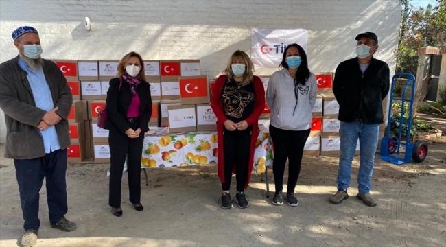 TİKA, Şili'deki ihtiyaç sahibi ailelere gıda ve hijyen kolisi yardımında bulundu