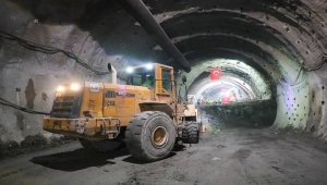 Ordu Çevre Yolu Projesi'ndeki Terzili Tüneli'nde ışık görüldü