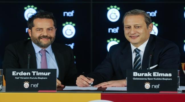 Galatasaray, stadının isim sponsorluğu için Nef ile sözleşme imzaladı