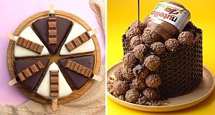 Most Amazing Oreo, KitKat Chocolate Cake Decorating Recipes | So Yummy KitKat Milk Tutorials